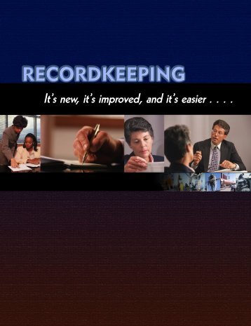 It's new, it's improved, and it's easier . . . . RECORDKEEPING - OSHA
