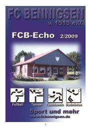 Ausgabe 02 im Jahr 2010 - FC Bennigsen