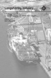 7884 Longshoring Industry - OSHA