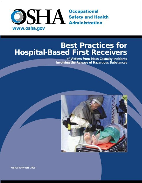 Best Practices For Hospital Based First Receivers Of Victims