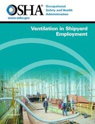 Ventilation in Shipyard Employment - OSHA