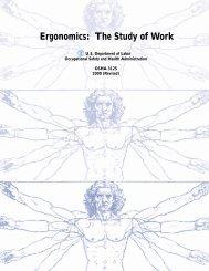 Ergonomics: The Study of Work - OSHA