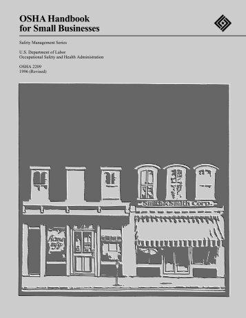 OSHA Handbook for Small Businesses