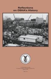 Reflections on OSHA's History