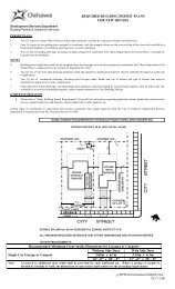 Requirements - Building Permit Plans For New ... - City of Oshawa