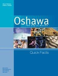 City Of Oshawa Ontario, Canada