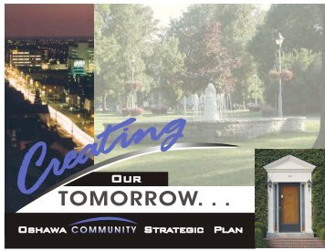 Community Strategic Plan - City of Oshawa