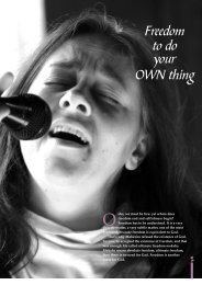 Freedom to do your OWN thing - Osho World