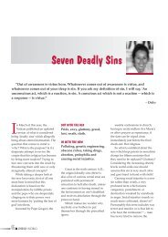 Seven Deadly Sins - Osho World