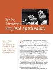 Sex into Spirituality - Osho World