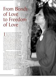 From Bonds of Love to Freedom of Love - Osho World
