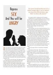 ANGRY SEX - Osho World