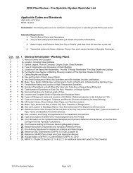 2010 Sprinkler System - Plan Review