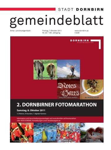 2. DORNBIRNER FOTOMARATHON - Dornbirn Online