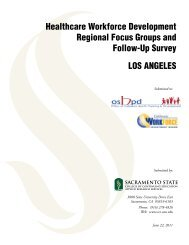 Los Angeles Focus Group Report - Office of Statewide Health ...