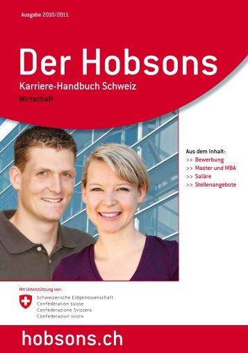 hobsons.ch - English Forum Switzerland