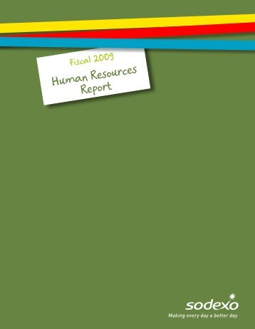 2009 Human Resources Report