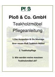 100112_Ploss Teak Möbel Pflegeanleitungx