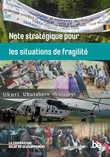 Note stratégique Situations de fragilité (PDF, 2.85 MB)