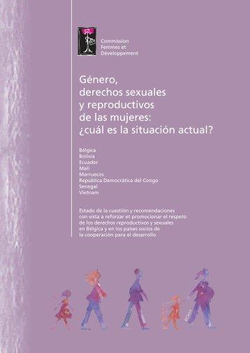 Género, derechos sexuales y reproductivos de las mujeres: ¿cuál es ...