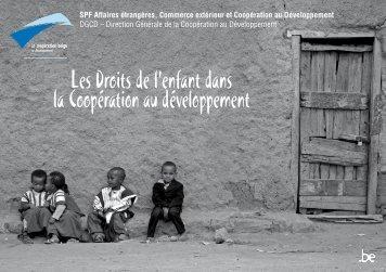 Les droits de l'enfant dans la coopération au développement (PDF ...