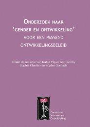 Onderzoek naar 'gender en ontwikkeling' - Buitenlandse Zaken ...