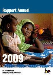 DGD Rapport annuel 2009 - Belgium