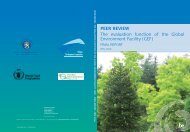 The evaluation function of the Global Environment Facility ... - Belgium