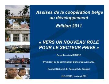 Présentation Baye Ibrahima Diagne