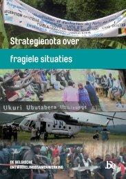 Strategienota Fragiele situaties (PDF, 4.92 MB) - Buitenlandse Zaken