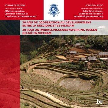 """Boek """"30 jaar ontwikkelingssamenwerking tussen België en Vietnam"""""""