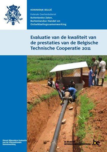 Syntheseverslag - Buitenlandse Zaken - Belgium