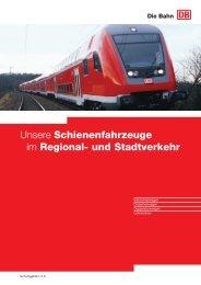 Regional- und Stadtverkehr - Deutsche Bahn  AG