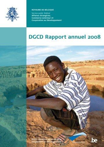 DGCD Rapport annuel 2008 - Buitenlandse Zaken
