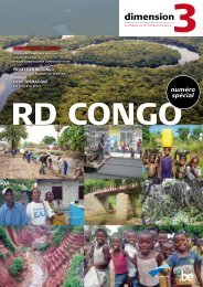 Dimension 3: dossier RD Congo