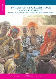 Review of the Literature and Donor Approaches (PDF ... - Belgium