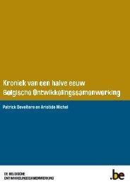 Kroniek van een halve eeuw Belgische Ontwikkelingssamenwerking