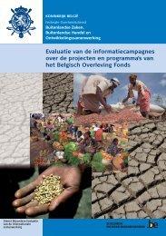 Evaluatierapport (PDF, 8.77 MB) - Buitenlandse Zaken - Belgium
