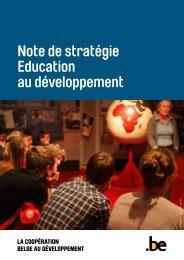 Note de stratégie Education au développement (PDF, 494.02 Kb)