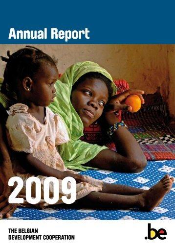 DGD Annual report 2009 - Belgium