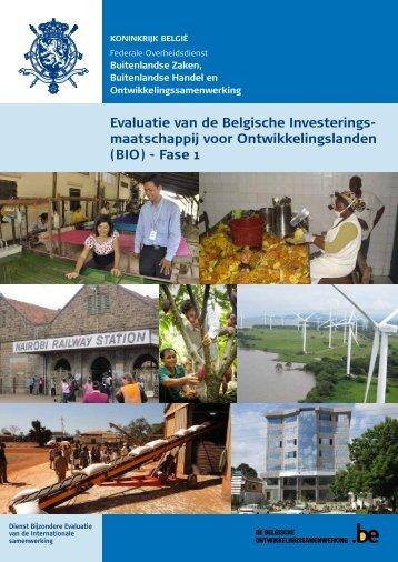 Evaluatierapport - Buitenlandse Zaken - Belgium