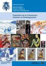 Rapport d'évaluation - Belgium