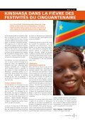 Dimension 3: RDC, 50 ans! (PDF, 3.23 MB) - Page 5