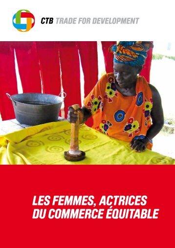 """Brochure """"Les femmes, actrices du commerce équitable"""" - Belgium"""