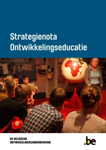 Strategienota Ontwikkelingseducatie - Buitenlandse Zaken