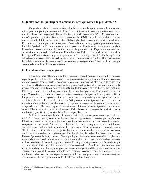 Education des femmes et des filles (PDF, 451.8 Kb)