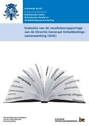 Eindverslag (PDF, 1.51 MB) - Buitenlandse Zaken - Belgium