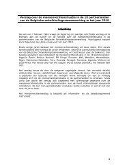Verslag 2010 - Buitenlandse Zaken