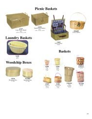 Picnic Baskets Laundry Baskets Baskets Woodchip Boxes