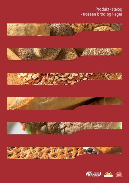 Produktkatalog - frossen brød og kager - Dktrading